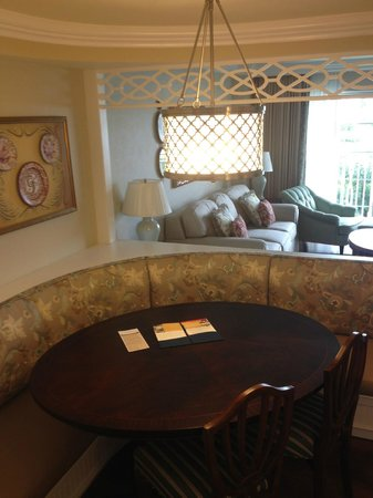 Disney's Grand Floridian Resort & Spa: From the kitchen nook to the living room