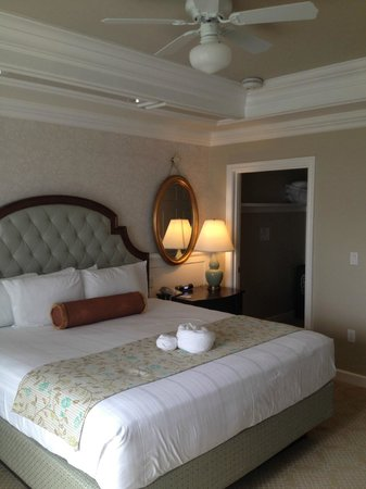 Disney's Grand Floridian Resort & Spa: The master bedroom
