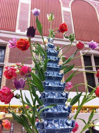 Rijksmuseum Cafe: Déco