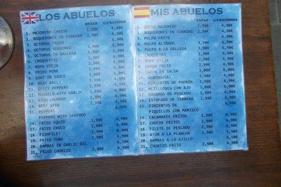Mis Abuelos : et en plus pas cher