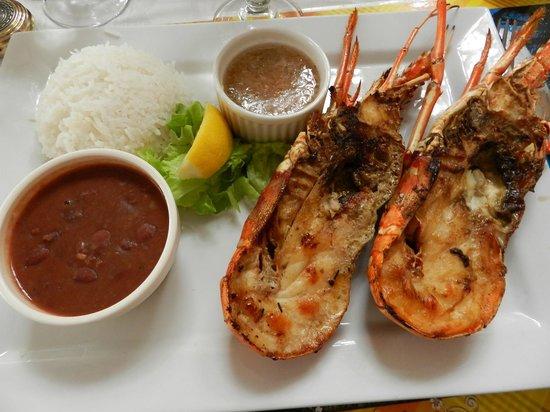 Restaurant La Marine : Langouste