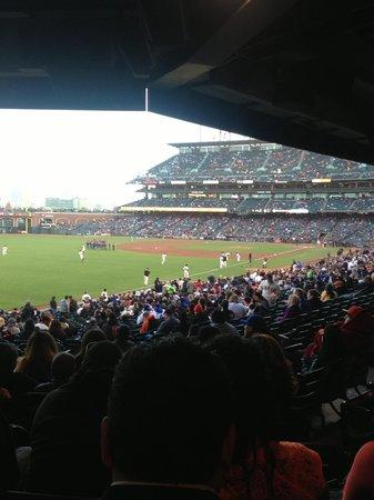 AT&T Park: Giants vs Dodgers