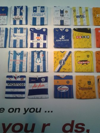 National Football Museum: football jerseys