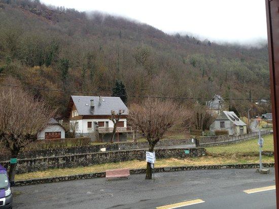 Borderes-Louron, ฝรั่งเศส: Vue de la chambre