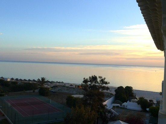 El Mouradi Palm Marina: lever du soleil depuis notre chambre