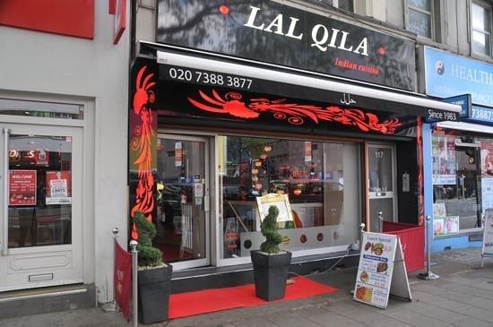 Lal Qila Indian Restaurant : The restaurant