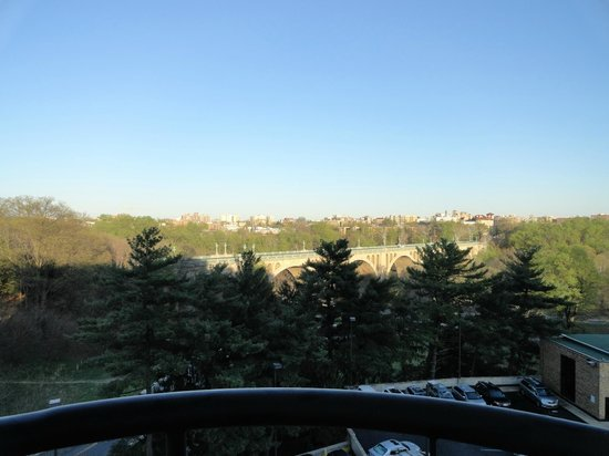 Omni Shoreham Hotel: View from the 5th floor