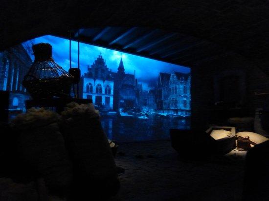 Historium Brugge: een van de zeven taferelen