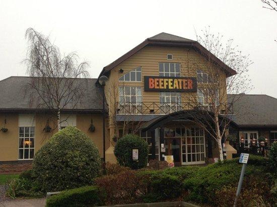 Premier Inn Stockton-On-Tees/Middlesbrough Hotel: ресторан рядом