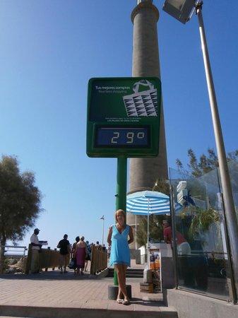 Faro de Maspalomas: Погода в ноябре