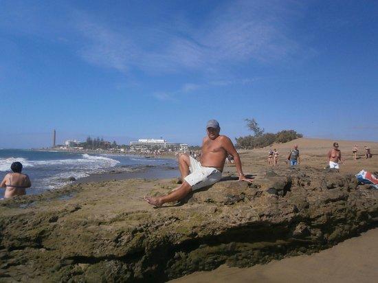 Faro de Maspalomas: В далике Маяк