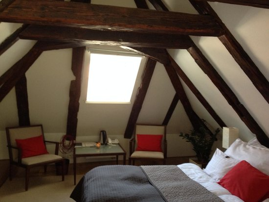 Domus Balthasar Design Hotel: Attic Room (Room 7)