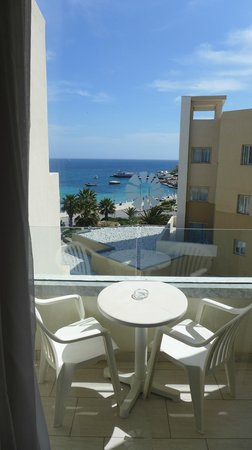 db Seabank Resort + Spa : Balcony view