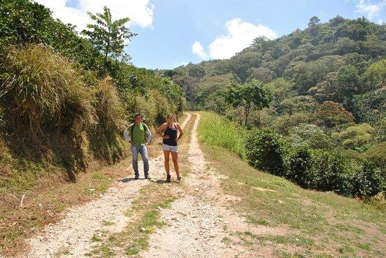 Jinotega, Nikaragua: during our walk in the nature reserve Datanli-El diablo