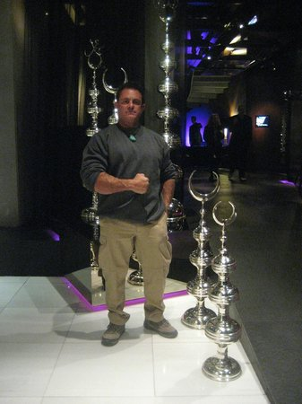 W Istanbul: Me in Lobby May 1st 2014