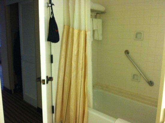 Hilton Alexandria Mark Center: tub shower combo