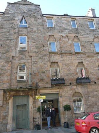 Brooks Hotel Edinburgh : Façade hôtel
