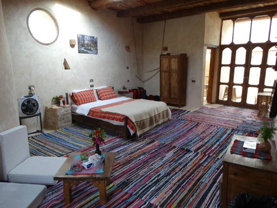 Carols Ghaliet Ecolodge Siwa: Beautiful upstairs room
