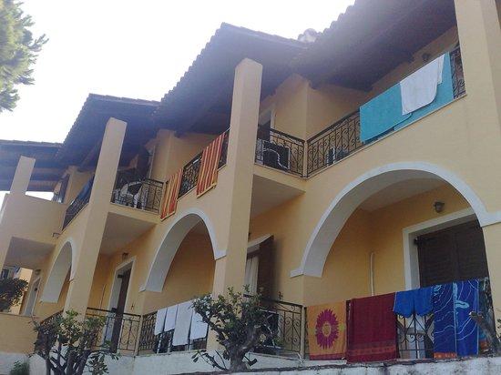 Yria Celia Apartments: stanze