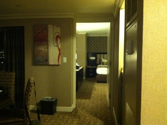 MArina Suite View From Living Room To Bedroom Picture Of Golden Nugget Atl