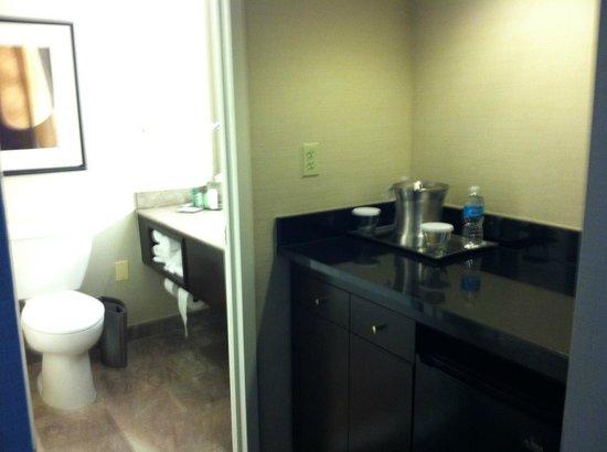 "Hilton Alexandria Mark Center: ""Guest"" bathroom"
