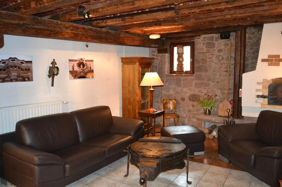 Hotel Restaurant Saint-Nicolas : Salon d'accueil