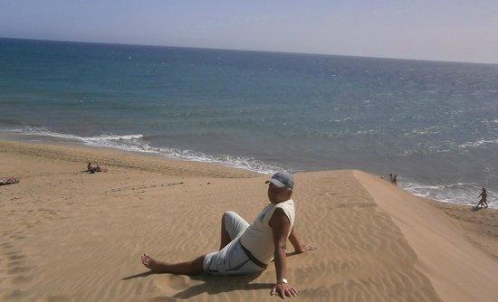 Playa de Maspalomas: Вид сверху