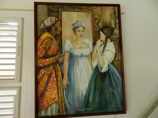 Musée de la Pagerie : Tableau