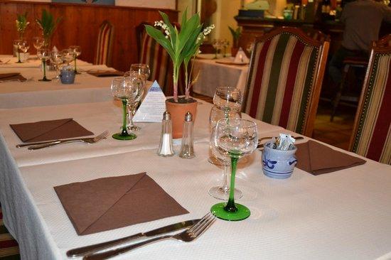 Hotel Restaurant Saint-Nicolas : Restaurant le MANALA