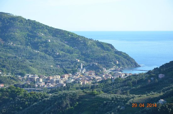 L'Antico Borgo: view from the terrace