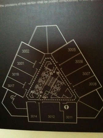 Hilton Alexandria Mark Center: Floor plan of the 30th floor