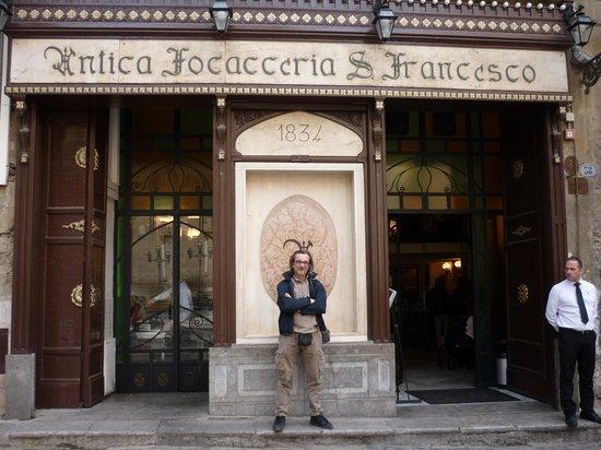 Antica Focacceria San Francesco: Entrata