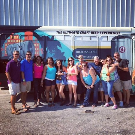 The Brew Bus-South Florida: Our April 26th Coastal Cruise Brewery Tour