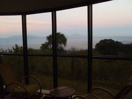 Ngorongoro Sopa Lodge: View from the room