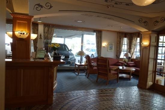 Derby Hotel: lobby