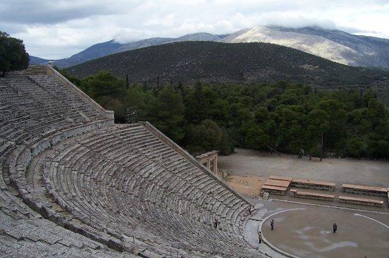 Théâtre d'Épidaure : Амфитеатр Эпидавра