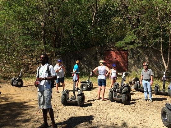 LucianStyle Segway Day Tours: Our guide at one of the stops