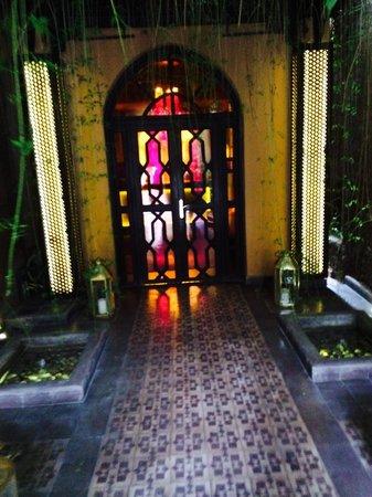 Les Bains de Marrakech : Entrance