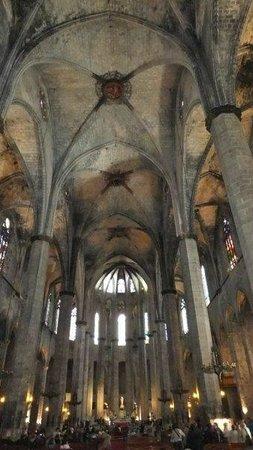 The Basilica of Santa Maria del Mar: Techos
