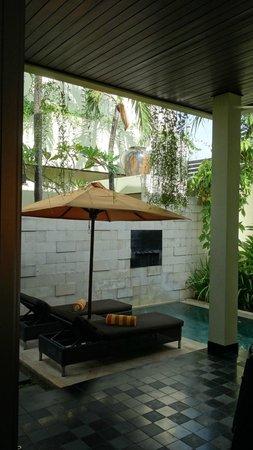 Sun Island Boutique Villas & Spa: la piscine personnelle