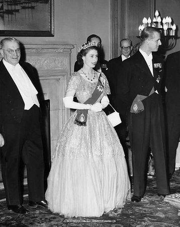 Queen Elizabeth visiting Rodd Charlottetown