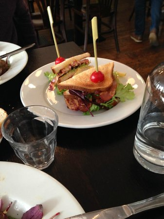 Cafe-Restaurant Rodin : Club sandwich