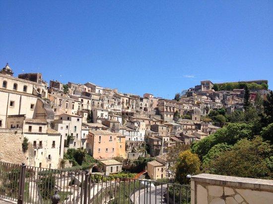 Ragusa Ibla : Panorama case Ibla