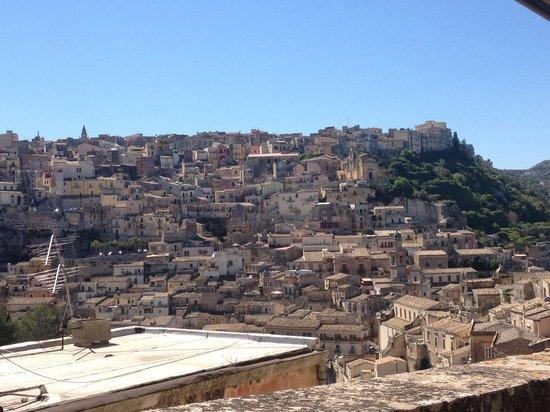 Panorama case Ragusa Ibla 2