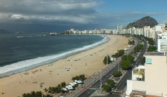 Porto Bay Rio Internacional Hotel: Picture I took from the roof-top pool area