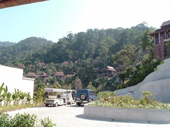 Pimalai Resort and Spa : The view of the hillside