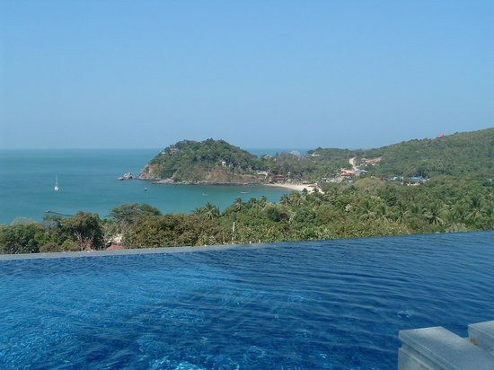Pimalai Resort and Spa : The infinity pool up on the hillside