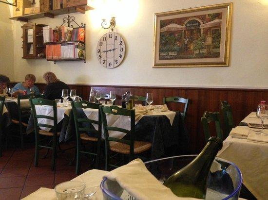 Ponte e Parione: Вид ресторана изнутри