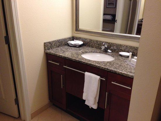 Residence Inn Fredericksburg : vanity -Room #327