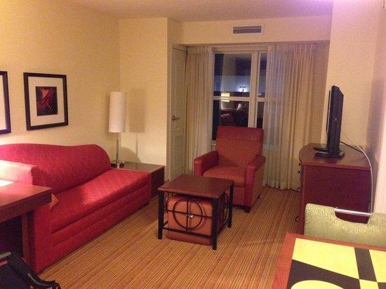 Residence Inn Fredericksburg : living room area - Room #327